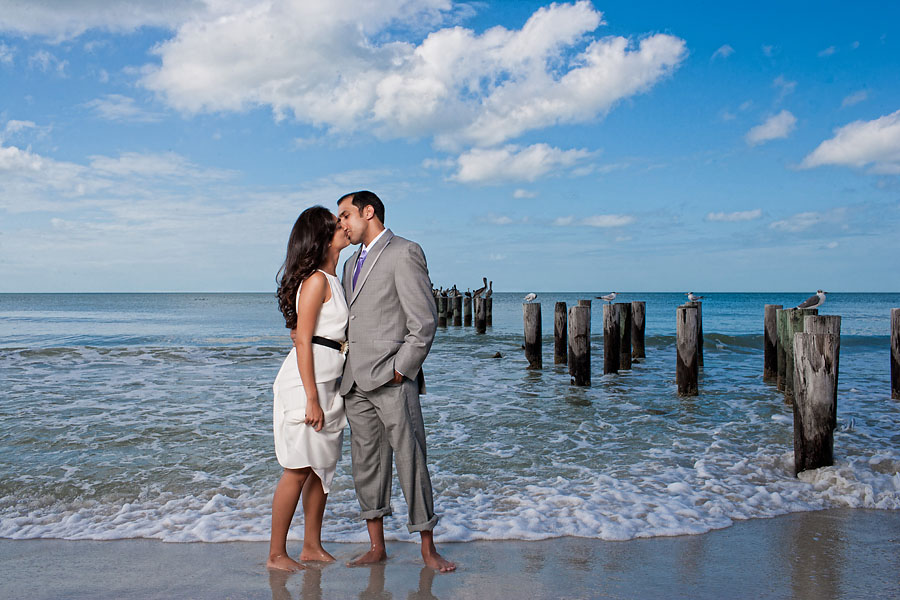 indian wedding naples florida Anand and Neha met on Bourbon Street in New