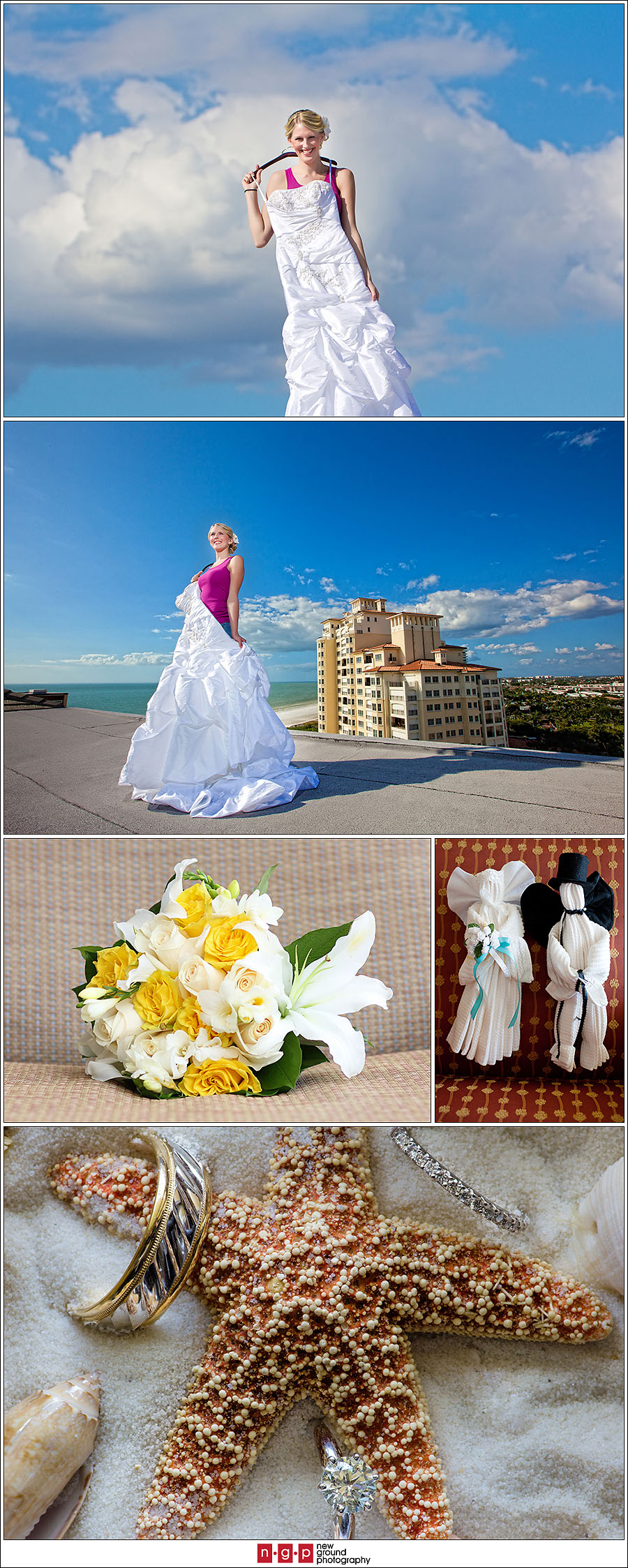 Marco island wedding brittany greg marco island for Key west wedding dresses