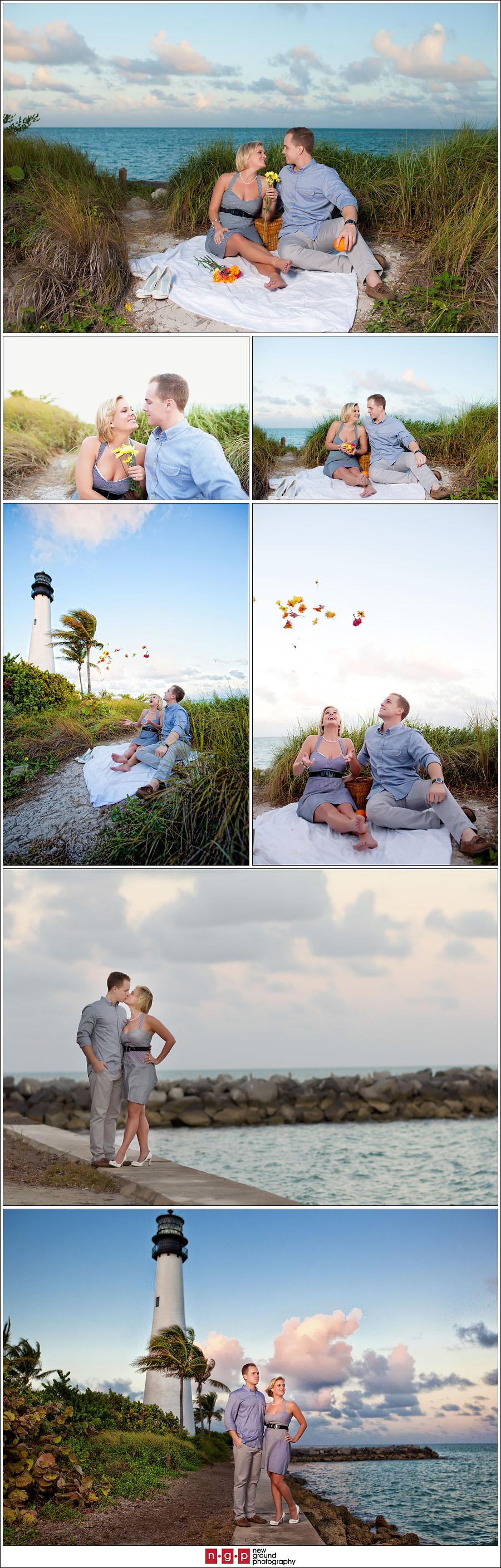 Ocean Park Ford >> Key Biscayne Engagement   Casey + Tate   Miami Engagement Photographers » Naples Florida Wedding ...