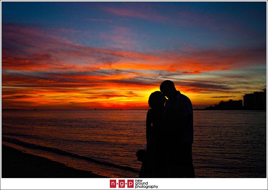 Lover S Key State Park Wedding Andie Jack Florida