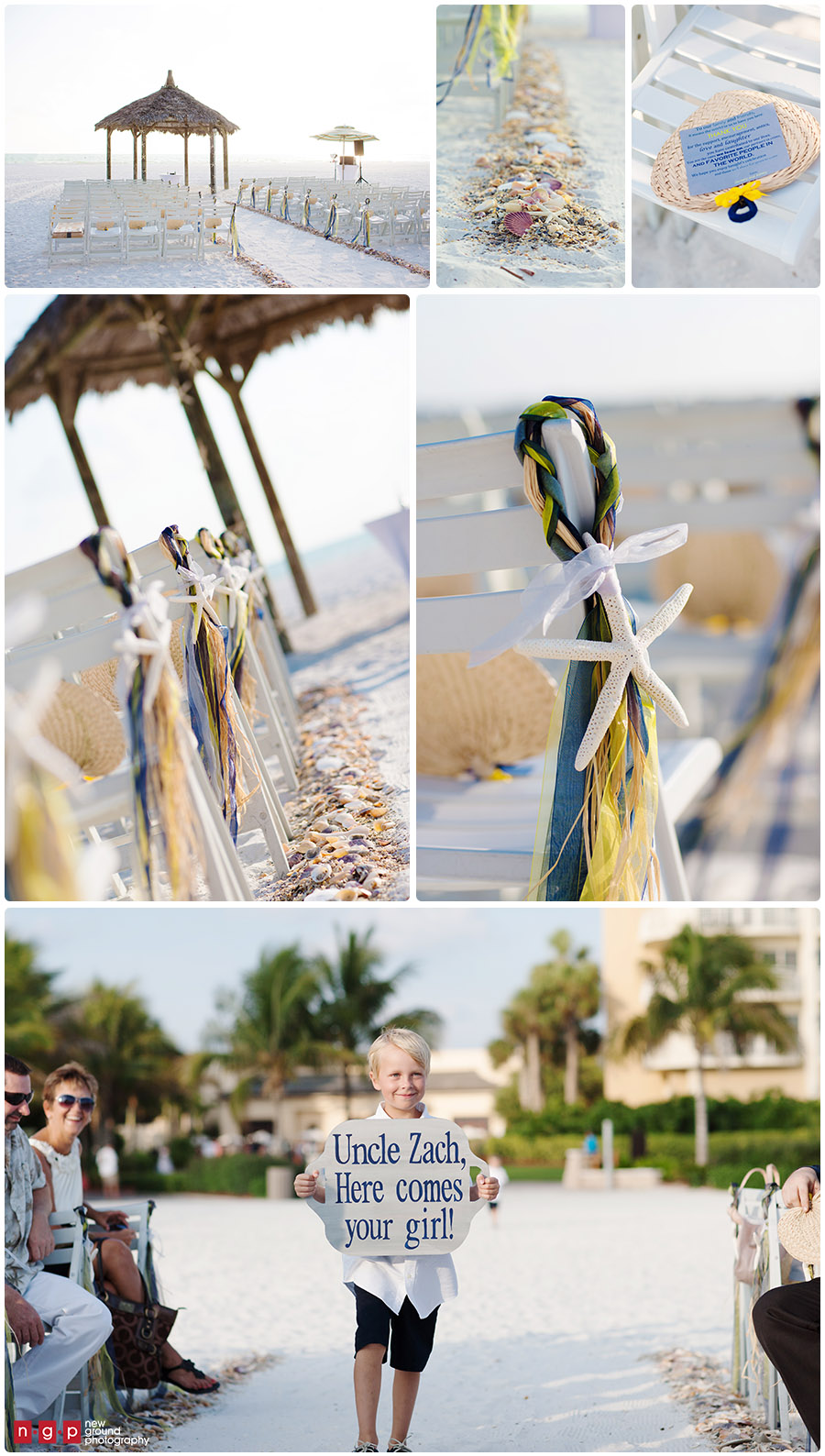 09 beach wedding ceremony - marco island beach wedding