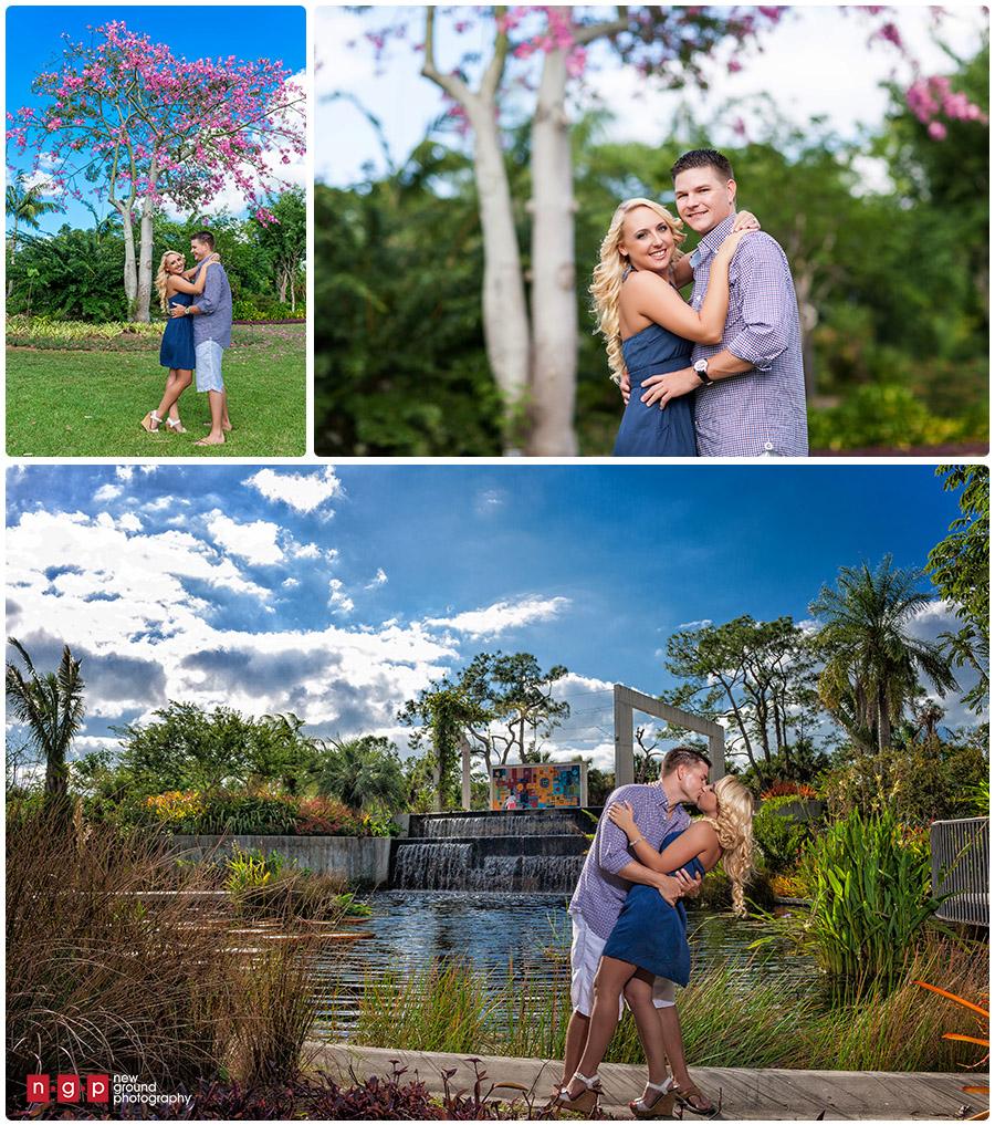 Botanical Garden Naples Engagement