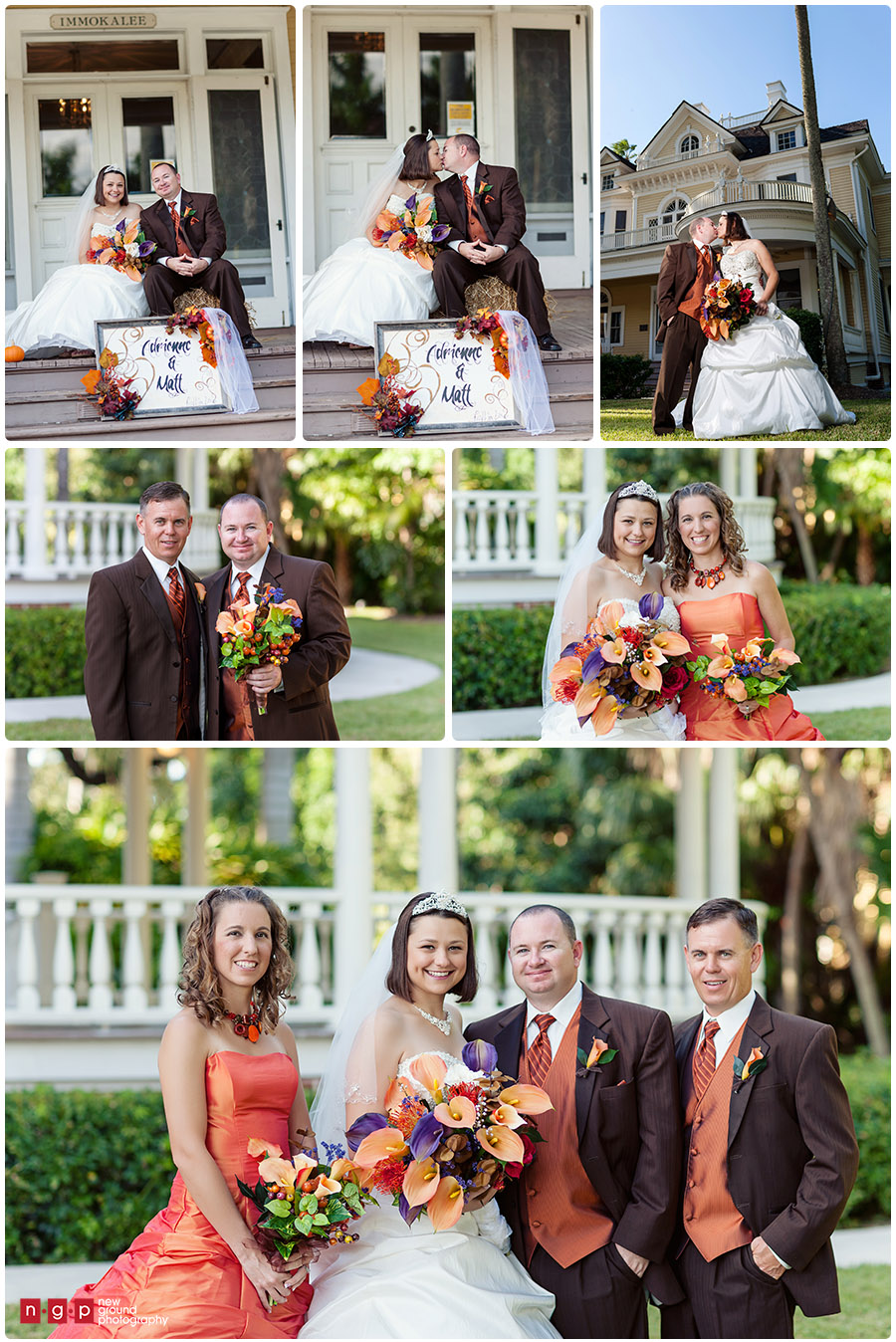 Burroughs Home Wedding Adrienne Matt Fort Myers