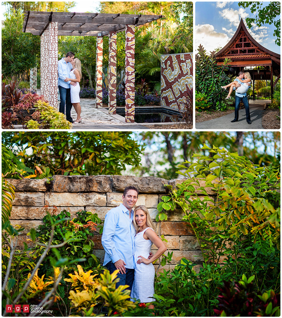 Naples botanical garden engagement kristin jason - Botanical gardens naples florida ...