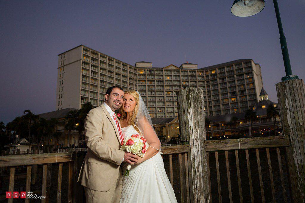 01 Sanibel Marriott Wedding Photography