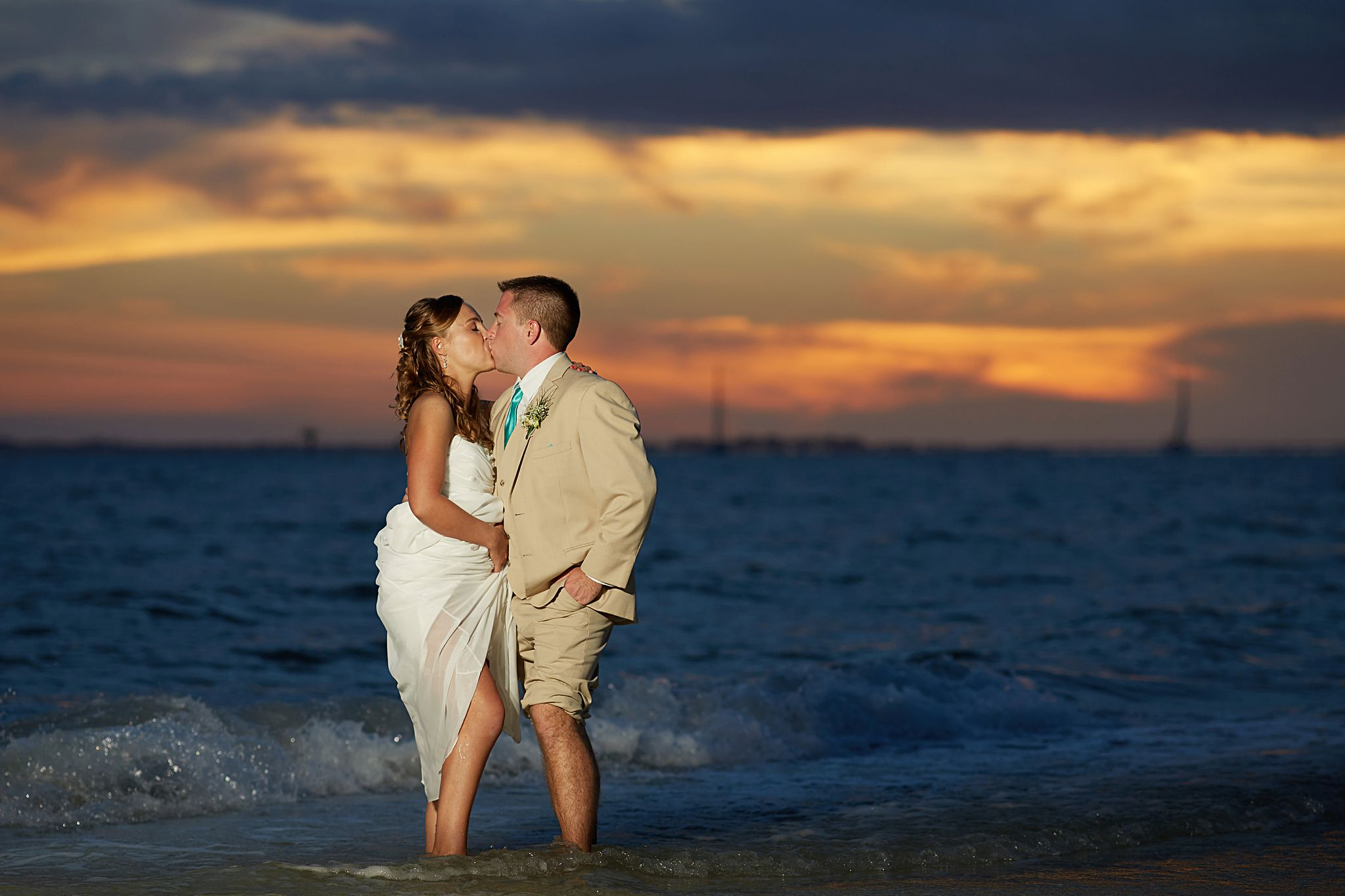 Pink Shell Weddings Leslie Mike Fort Myers Beach
