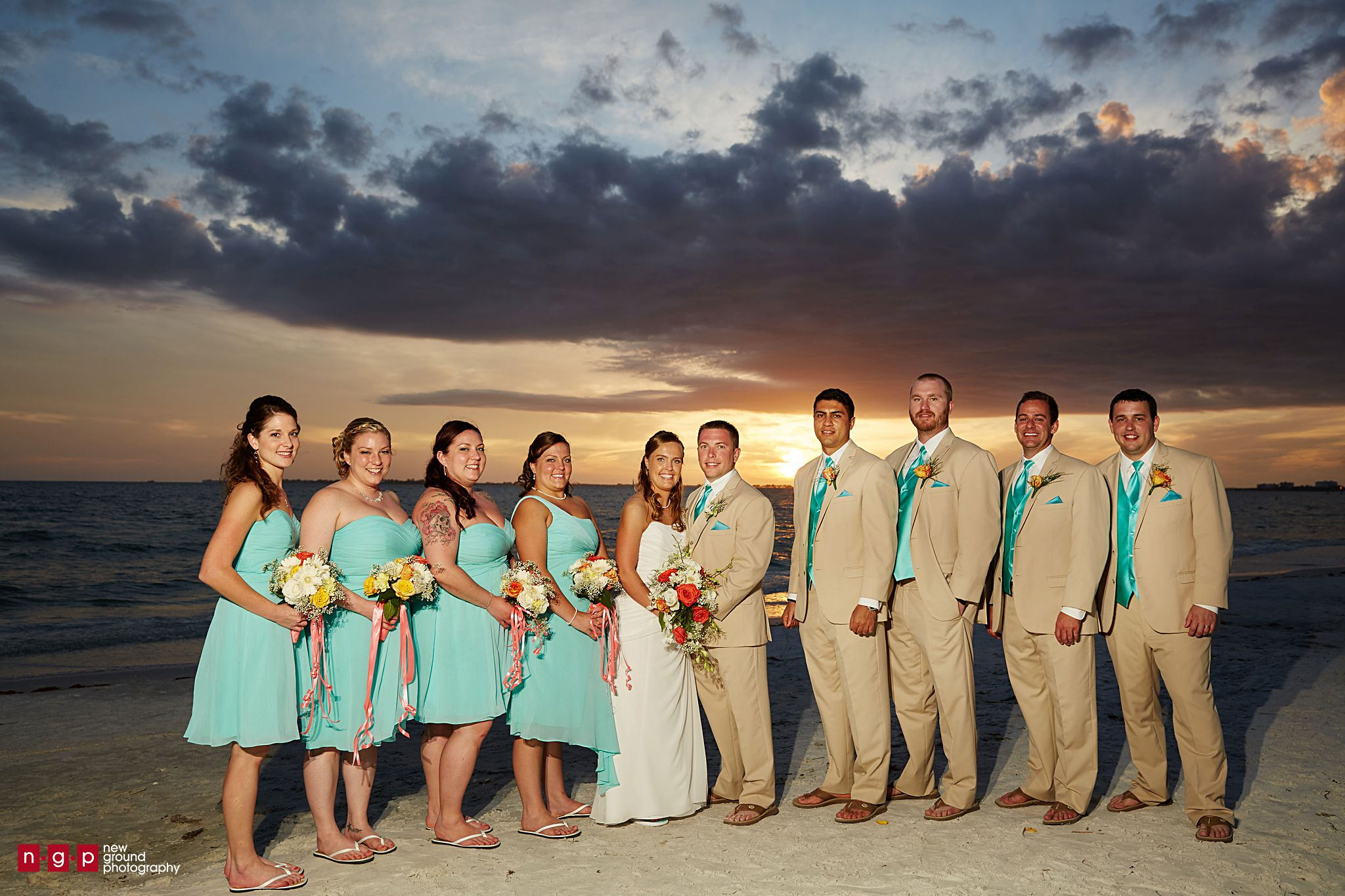 Pink Shell Weddings   Leslie + Mike   Fort Myers Beach ...