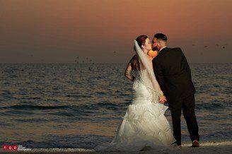 marco island hilton wedding photography