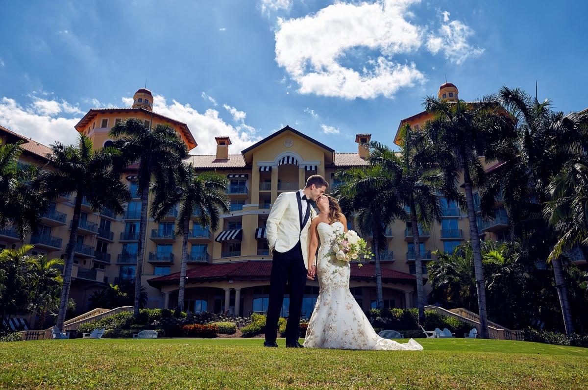 Naples Florida Beach Weddings: Naples Ritz Carlton Wedding