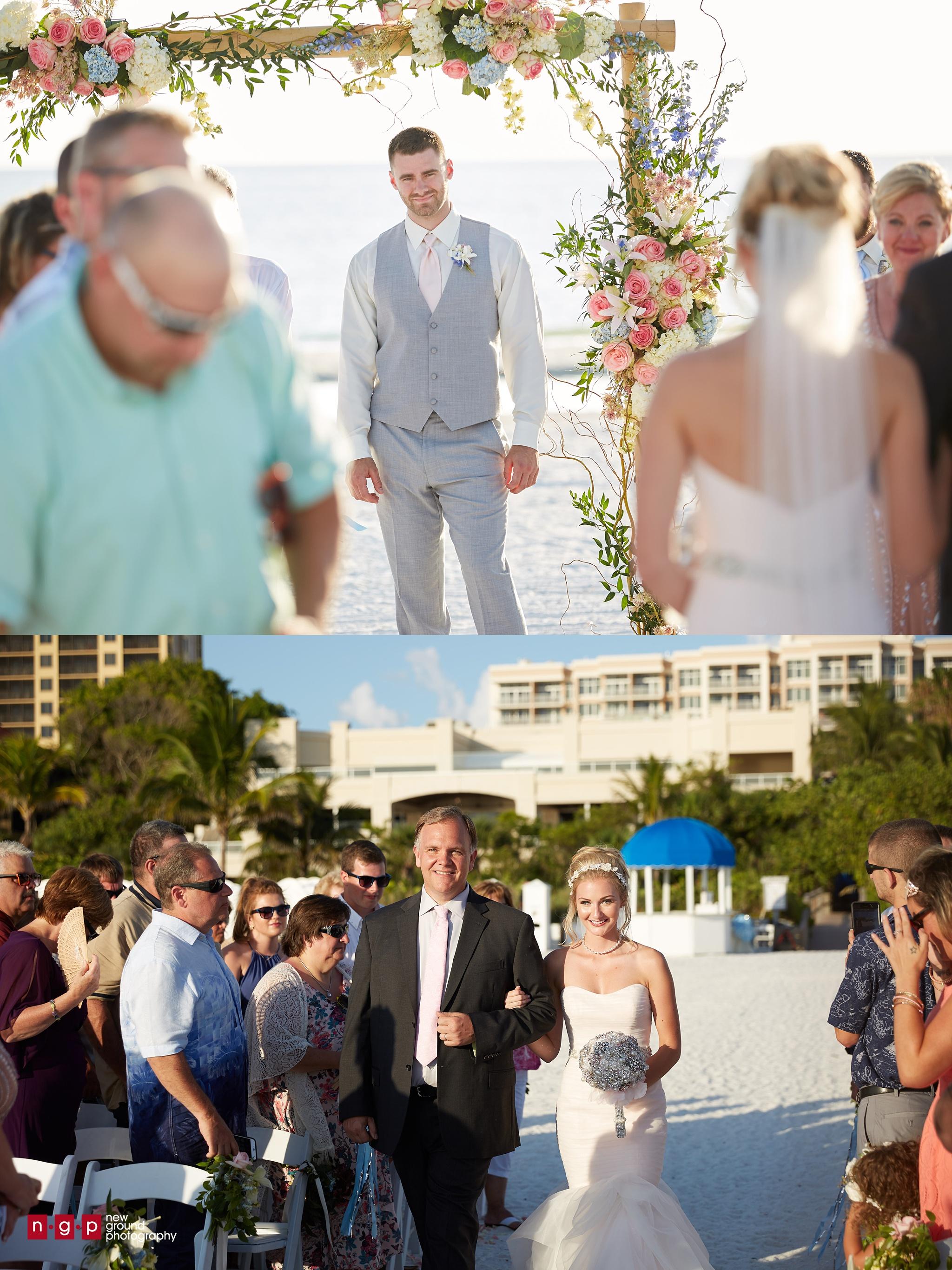 Marco Beach Ocean Resort Wedding Kenzie Stephen
