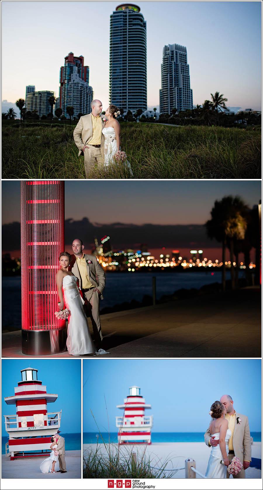 Wedding Photography Miami Beach: South Beach Miami Wedding