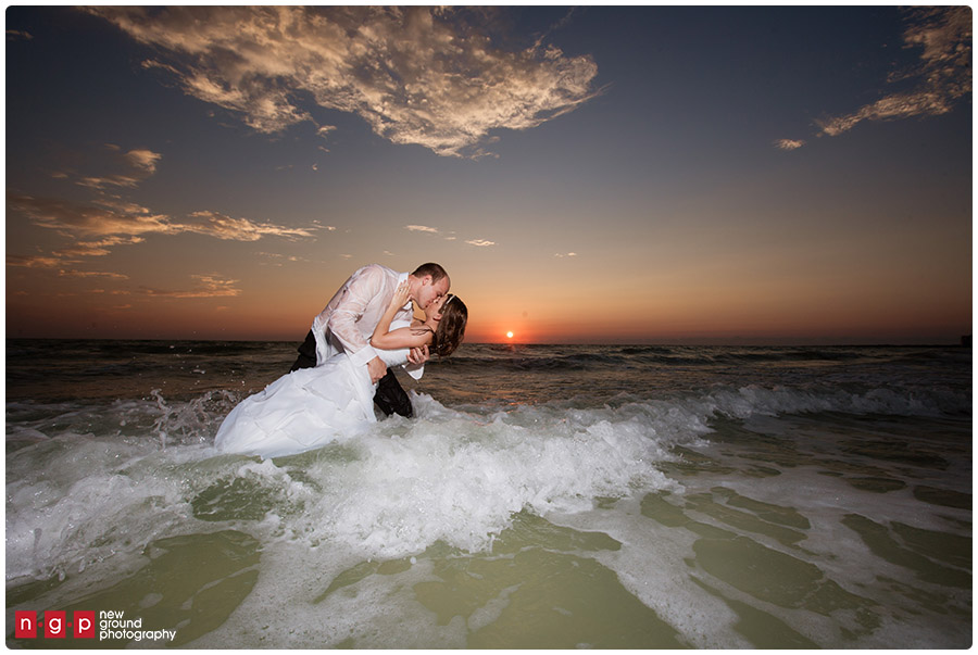 Trash The Dress Ashley Zach Marco Island Wedding