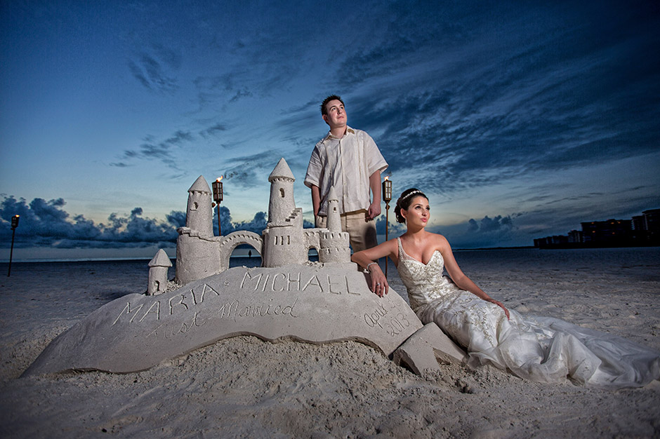 Marco Island Marriott Wedding Maria Michael Florida