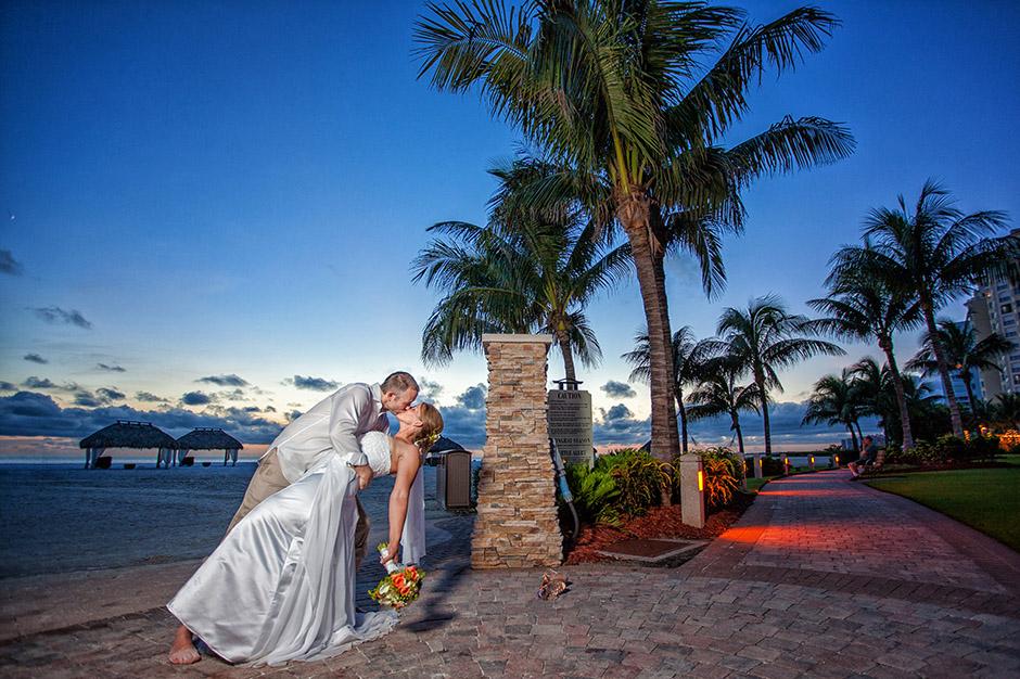 marco island marriott wedding cathy eric florida