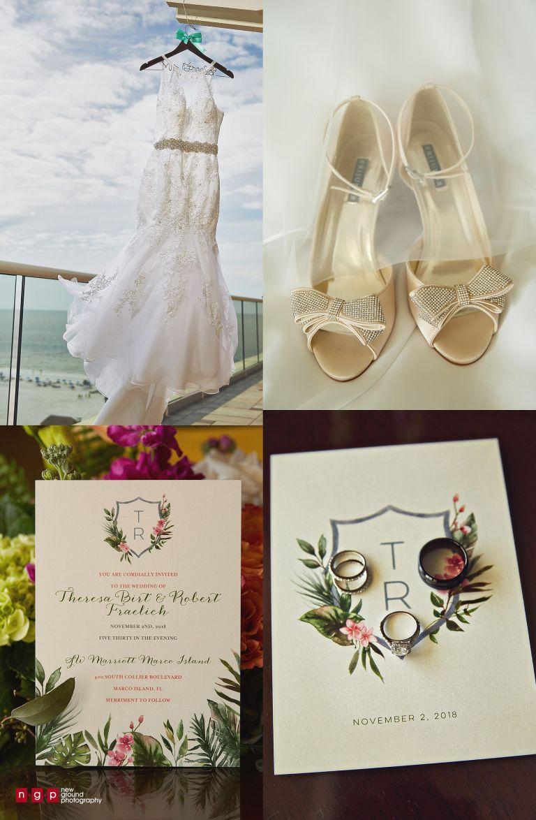marco island wedding details