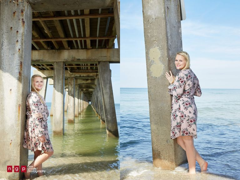 naples pier high school senior photographer